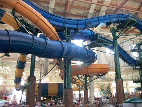Congrats to our client on opening date for new waterpark