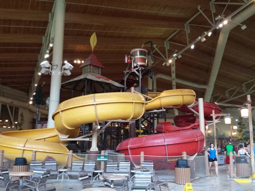Indoor Waterparks: Surfing a Wave in North America